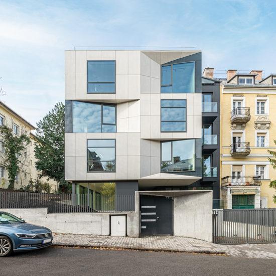 Téralkotó Építész Stúdió - Társasház, XII. Törpe utca