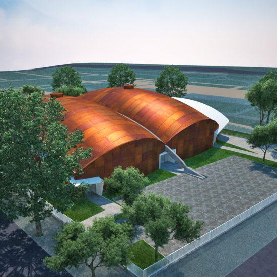 TÉRALKOTÓ Építész Stúdió_Városmajori Sportcsarnok